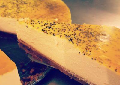 Pâtisserie bio et vegan à Caen - Cheesecake au citron