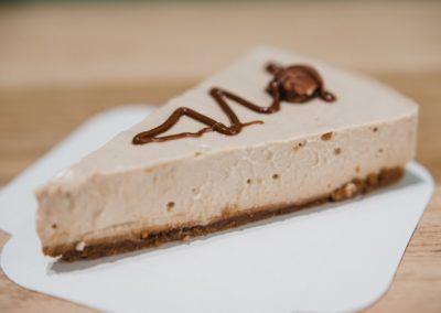 Pâtisserie bio et vegan à Caen - Cheesecake praliné